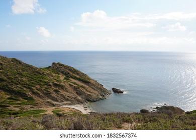 Uncontaminated secret bay Sardinia - south coast