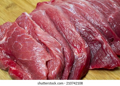 Uncooked fresh meat