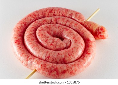 Uncooked sausage