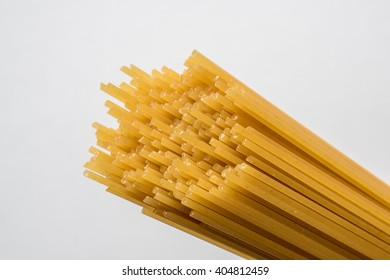 Uncooked spaghetti - dried pasta