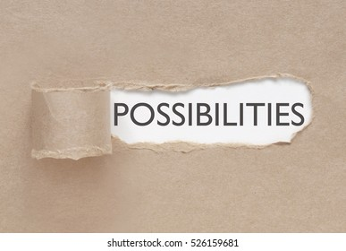 Uncovering possibilities