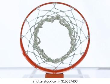 Under basketball Basket
