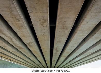 Under bridge, Abstrack background