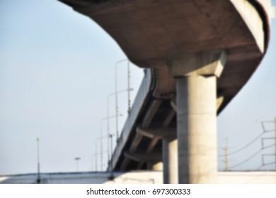 Under the bridge Picture blurred