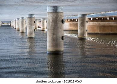 Under the bridge, Stockholm, Sweden
