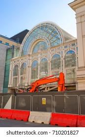 Under Construction Exterior of the Paul Hamlyn Hall, Royal Opera House, London