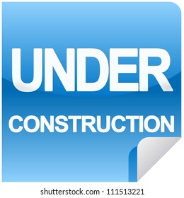 under construction web sign