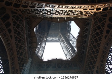 Under the Effel Tower of Paris