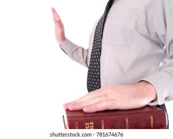 Under Oath Man