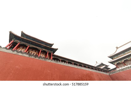 Under the snow of the Forbidden City