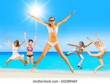Under the Sun Having Fun