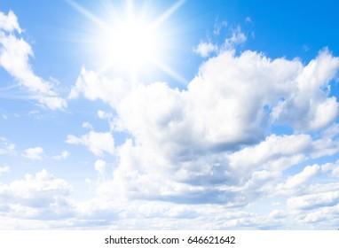 Under Sun on a Sunshine Day