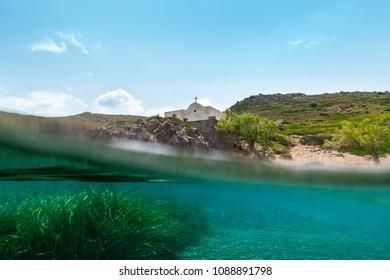 Undera water island