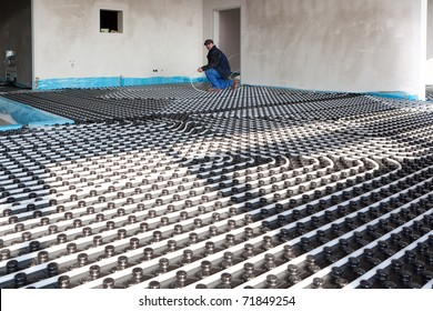 underfloor heating and colling