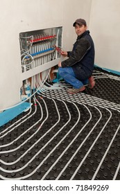 underfloor heating and colling