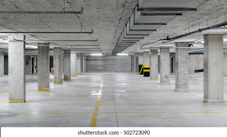 Underground car parking garage