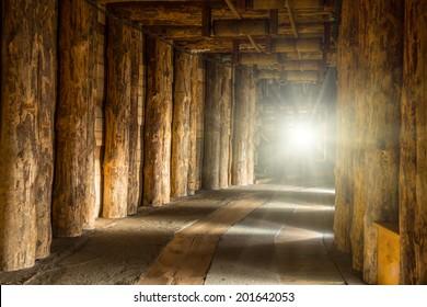 Underground corridor