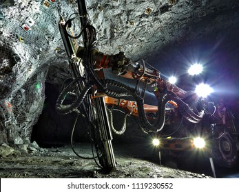 Underground Jumbo Drill Equipment