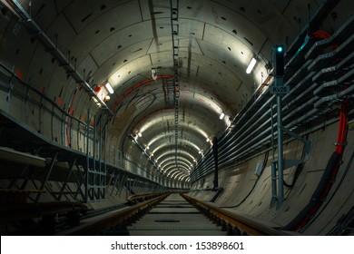 underground metro line