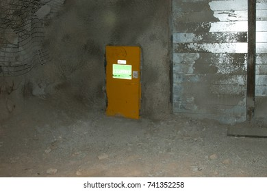Underground Mine Escapeway Door