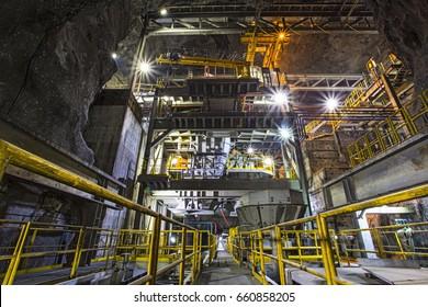 Underground Mine Ore Flow Construction