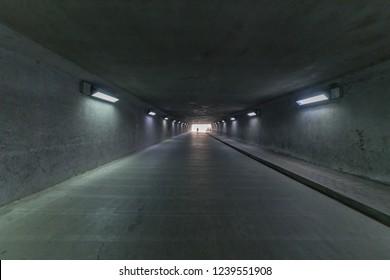 Underground passage, tunnel