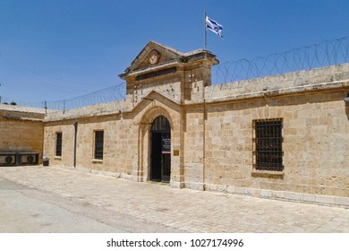 underground prisoners museum that was arussian women's hostel building that was converted to a prison by the British Mandate in Palestine