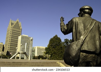 Underground Railroad monument Detroit