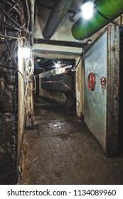 Underground soviet bunker in Moscow, Russia