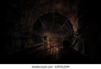 Underground transport tunnel