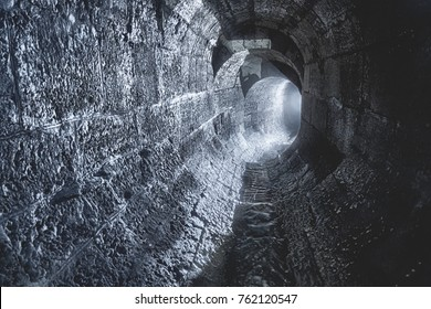 Underground tunnel in Moscow