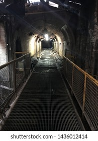 Underground Tunnel in a renowned haunted Iron Furnace located in the Deep South