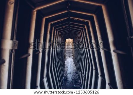 Underground vault entrance Fallout