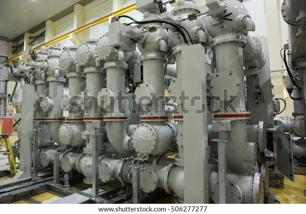 Underinstallation Indoor Gas Insulated Switchgear Gis Stock