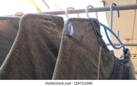 Underpants can not wear.