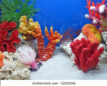 underwater colorful coral stones diversity. new color tropical concept