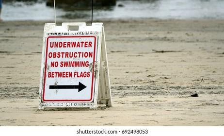 Underwater Construction Sign
