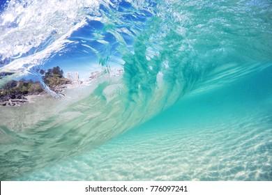 Underwater at Coolangatta.
