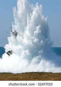 Underwater explosion