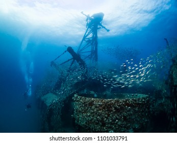 underwater photography underworld photography school of fish ship wreck scuba dive travel tropical holiday leisure