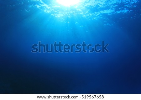 Underwater sea ocean background photo