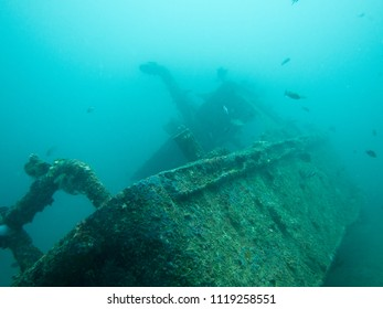 Underwater Ship Wreck