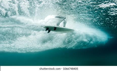 Underwater Surf Portrait