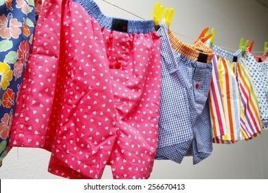 underwear, colored underwear, funny panties