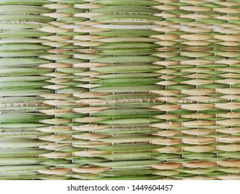 undyed papyrus is weaved become to mat wicker