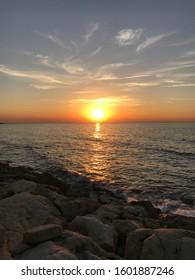 Unedited image of beautiful sunset
