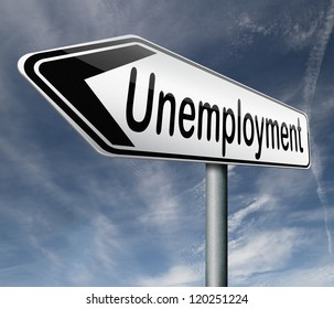 unemployment rate lose job loss joblessness jobloss caused by recession