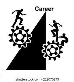 Unequal Conditions. Career opportunities between men and women are no contest