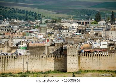 Unesco heritage medina of the Fes, Morocco