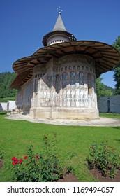 Unesco Heritage, Voronet Monastery in Romania